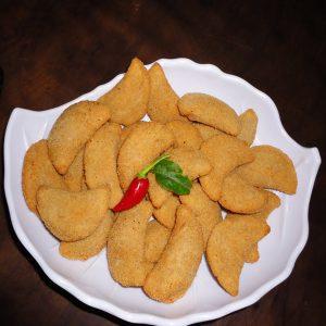 Risoles de queijo e presunto