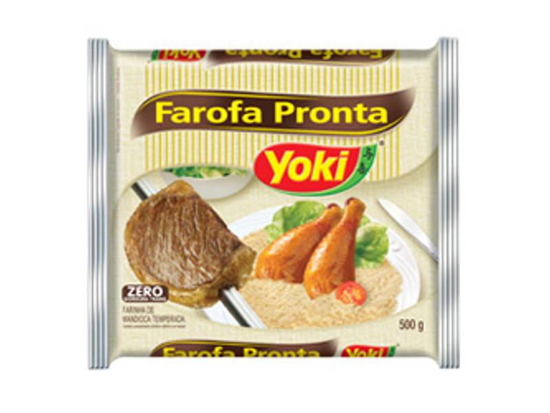 Farine de manioc assaisonné