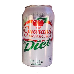Guaraná Antarctica Diet Lata
